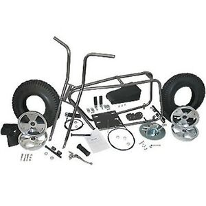 Mini Bike Kit Set Fork Frame Seat 10
