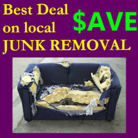 YOU can SAVE on JUNK removal… 1 877 736 9752