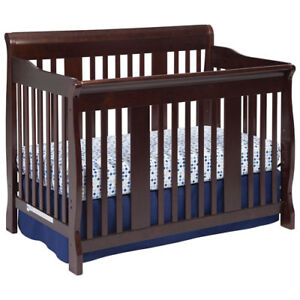 *new* Storkcraft Tuscany 4-In-1 Convertible Crib-Espresso /brown