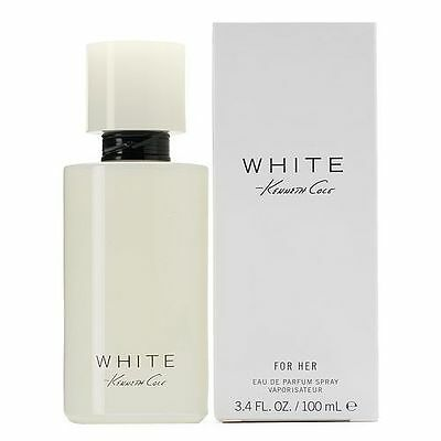 Kenneth Cole White for Her 3.4 oz. EDP Perfume for Her - Sealed - Kenneth Cole White Perfume
