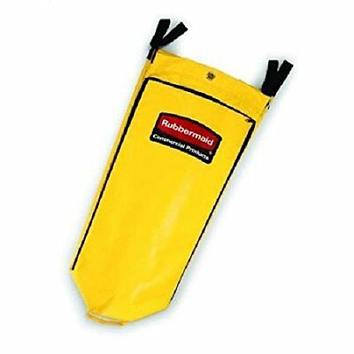 Rubbermaid Rcp 9t80 Yel Commercial Vinyl Cleaning Cart Bag 26 Gal Yellow 17 1