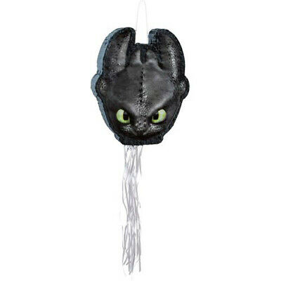 HOW TO TRAIN YOUR DRAGON 3 PULL STRING PINATA ~ Birthday Party Supplies Activity