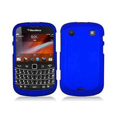 Blue Snap-On Hard Case Cover for Blackberry Bold Touch 9900 / 9930 Cover Blue Snap