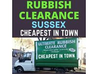 Rubbish Removal, Waste Clearance (CHEAPEST IN TOWN)