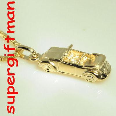 R045 -pendentif/hanger VW COX CABRIO -super ! GOUD / OR