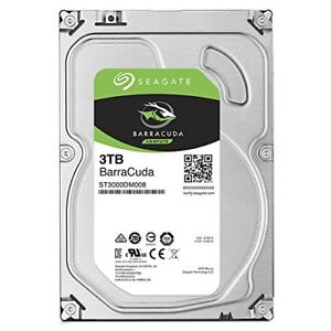 Seagate Barracuda 3TB 7200RPM 3'5 Internal Hard Drive (new)