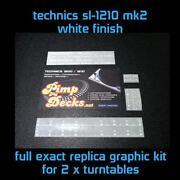 Technics 1210 White