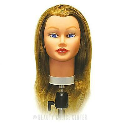 Celebrity Sam Ii Manikin Blonde Cosmetology Head 100% Hum...