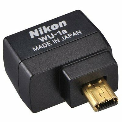 New Nikon WU-1a Wireless Mobile Adapter for D3200 D3300 D5200 D5300 D7100 Camera