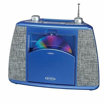 Jensen Home CD Player System Sport Handle Bluetooth Boombox