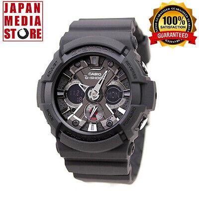 CASIO G-SHOCK GA-201-1AJF Big Case Analog & Digital Watch JAPAN - 201 Black Case Watch
