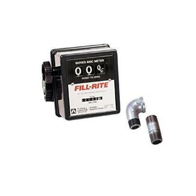 Fill-rite 807cmkl 5 - 20 Gpm 34-inch Npt Thread Nonresettable Meter Kit