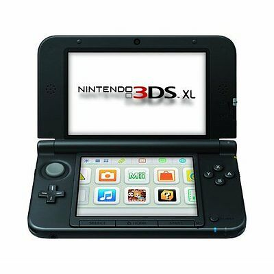 Nintendo 3DS XL Black/black Nintendo 3DS XL Very Good Portable System (Nintendo 3ds Xl Black Black Nintendo 3ds Xl)