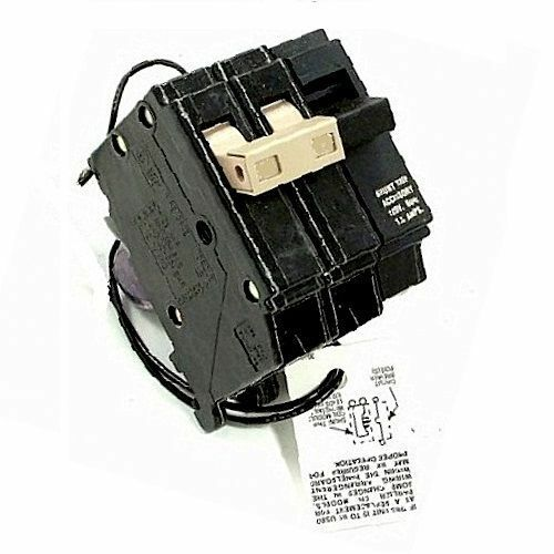 br 2 Pole 50 Amp with shunt trip new Cutler Hammer br250st Circuit Breaker