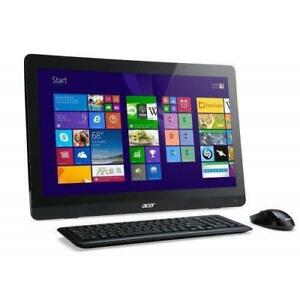 ACER  AZC-606 All in One 20'' Intel quad core 2.41 GHz, 6GB , 1TB + MC OFFICE PRO
