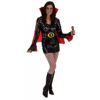 ADULT LAS VEGAS ROCK STAR LADIES FANCY DRESS COSTUME WOMAN'S - Rock Star Fancy Dress Kostüm