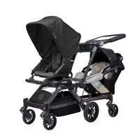 Orbit Baby G3 Double Stroller With Carseat And Base