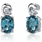 Topaz Birthstones Fashion Earrings