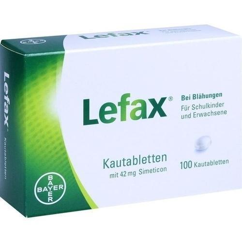 LEFAX Kautabletten 100 St PZN 622109