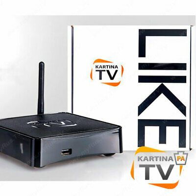 KARTINA TV DUNE HD RUSSIAN TV RECEIVER with LEARNING REMOTE CONTROL for sale  Shipping to India