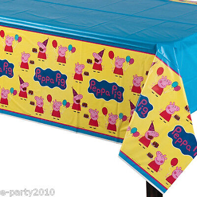 PEPPA PIG PLASTIC TABLE COVER ~ Birthday Party Supplies Decorations Cloth Nick](Peppa Pig Table Cover)