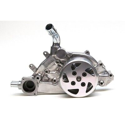 (PRW 1434631 High Performance Aluminum Water Pump polished polished alum pulley)