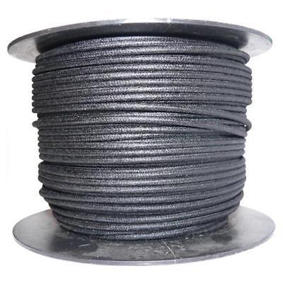 1M Algodón Trenzado Eléctrico Del Automóvil Cable 16 Calibre Negro