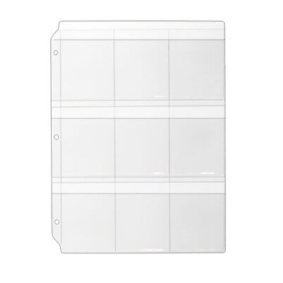 Storesmart Key Holder Clear Binder Pages 10pk Top Load With Flaps Rmstwpf-key-10