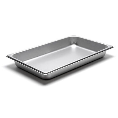22 Gauge Stainless Steel Steam Table Pan Full-size 8-516 Quart