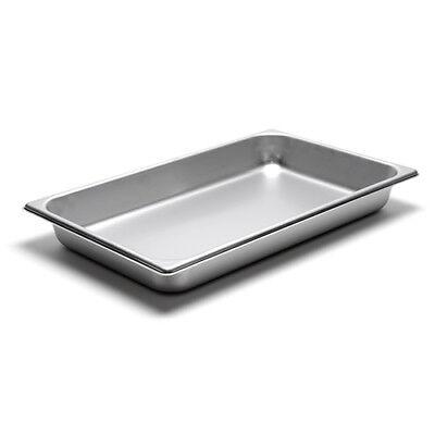 22 Gauge Stainless Steel Steam Table Pan Full-size 8-516 Quart