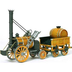 Occre Stephensons Rocket 1:24 Scale detailed wood & metal Model Kit 54000