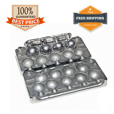 6//8 OUNCE  BALL WEIGHT MOULD,LEAD MOULDS,WEIGHT MOULDS