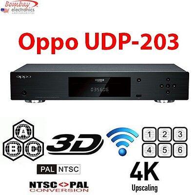 Oppo UDP-203 Ultra HD Multi Region Free DVD Blu-ray disc Player - 4K