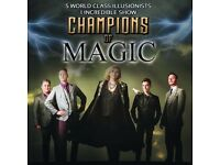 Champions of Magic Ticket - The Orchard Theater Dartford