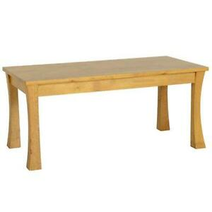 Oak coffee tables ebay Light oak coffee tables