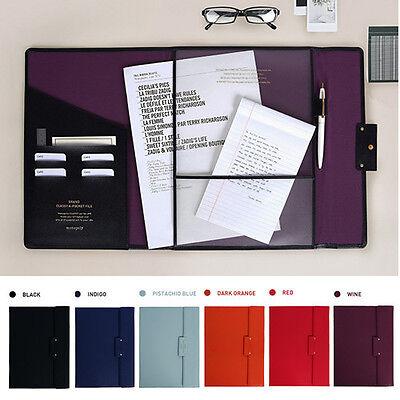 Classy A4 Document Folder Brief Case Bag Business Conference Excutie Portfolio - Business Portfolio Briefcase
