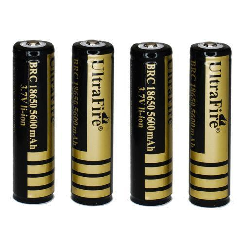 18650 Protected Rechargeable Batteries Ebay