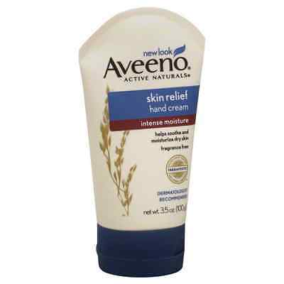 Aveeno hand cream intense relief  w/ oatmeal 3.5oz