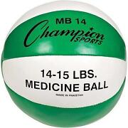 Leather Medicine Ball
