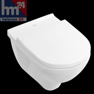 Villeroy & Boch O.Novo Wandtiefspül-WC Combi-Pack Spülrandlos 5660HR01