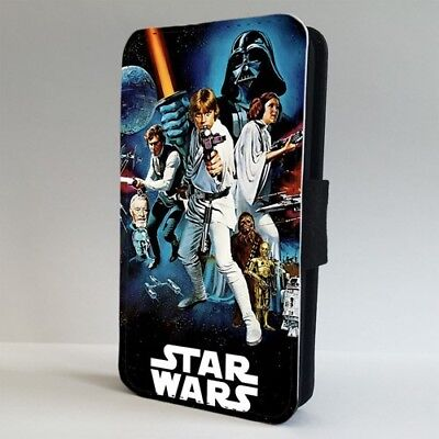 Star Wars Collage Characters Art FLIP PHONE CASE COVER for IPHONE SAMSUNG