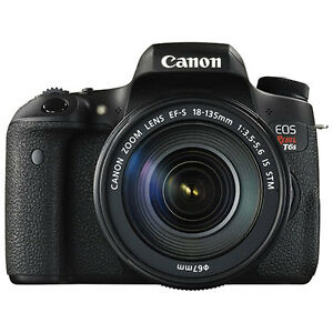 New in thebox Canon EOS Rebel T6s DSLR Camera with 18-135mm IS