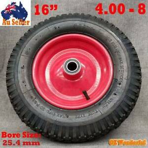 "16"" Pneumatic Wheels Hand Trolley Cart Wheelbarrow Tyres Double Epping Whittlesea Area Preview"