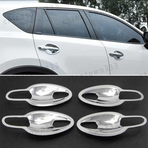 8Pcs Chrome Door Handle Bowl Cover Cup Cavity Trim For Mazda 6 Gj Atenza 2014-16