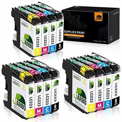 JARBO Replacement for Brother LC223XL LC223 XL LC-223 XL Ink Cartridges