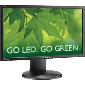 "ViewSonic VP2365-LED 23"" Widescreen LED Computer Monitor - Excellent for Photo editing"