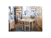 Like new 6 Ikea NORRNAS Dining Chairs