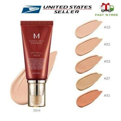 [MISSHA] M Perfect Cover BB Cream  4 Color 50ml No.13/ 21/ 23/ -