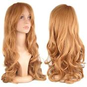 Long Blonde Wig Human Hair