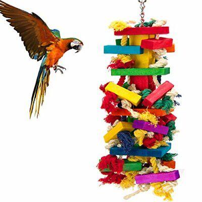 Extra Large Bird Parrot Toys for Cockatoos African Grey Macaws